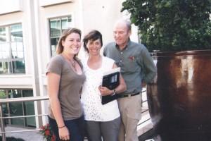 Ellyn Bader ve Peter Pearson ve Kızları İstanbul da Çiftler Terapisi Eğitimi Sonrası