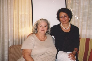 Frances Bond-White ve Fatma Reid